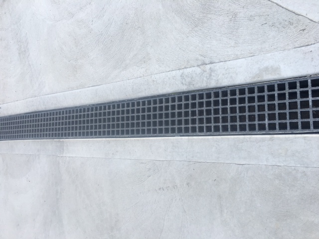 FRP Drainage Channel and Grating Combo
